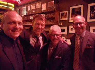 Ken Peplowski, Martin Wind, Ted Rosenthal, and Matt Wilson at Birdland