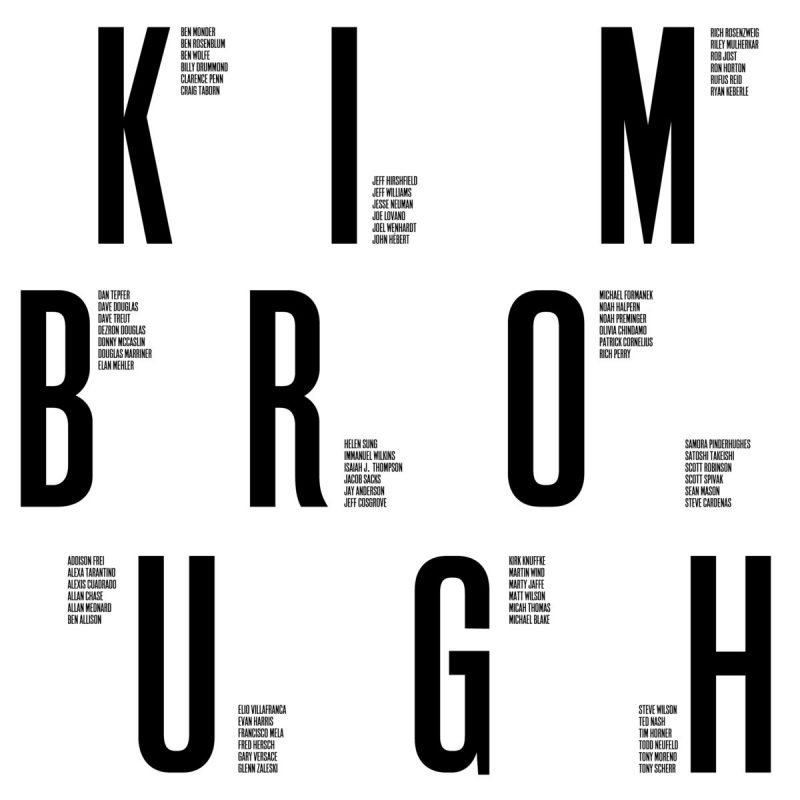 Cover of Newvelle Records' Kimbrough compilation