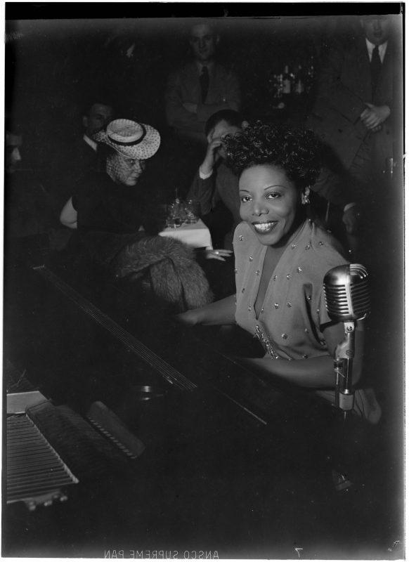 Mary Lou Williams at Café Society, New York, June 1947