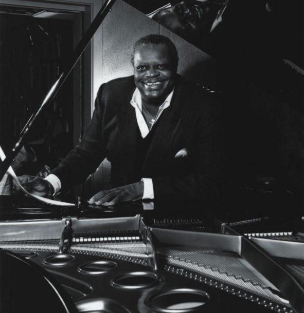 Piano Legend Oscar Peterson