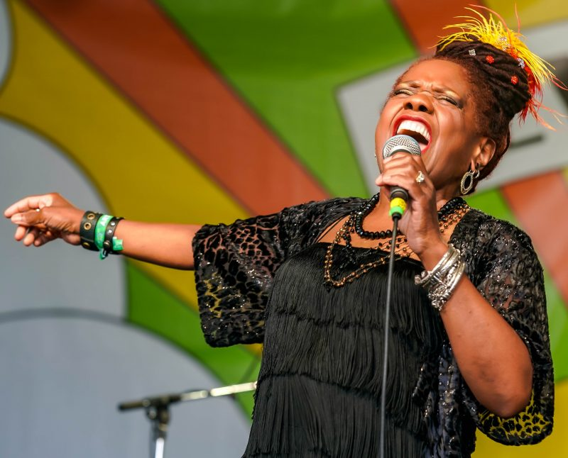Catherine Russell at the 2021 Newport Jazz Festival