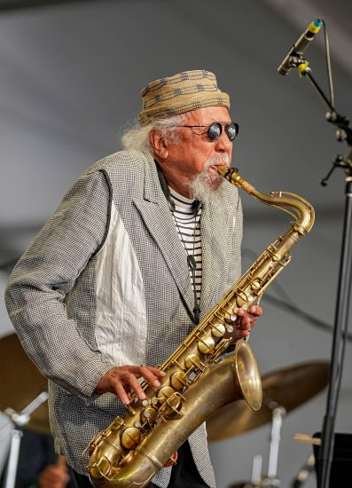 Charles Lloyd at the 2021 Newport Jazz Festival