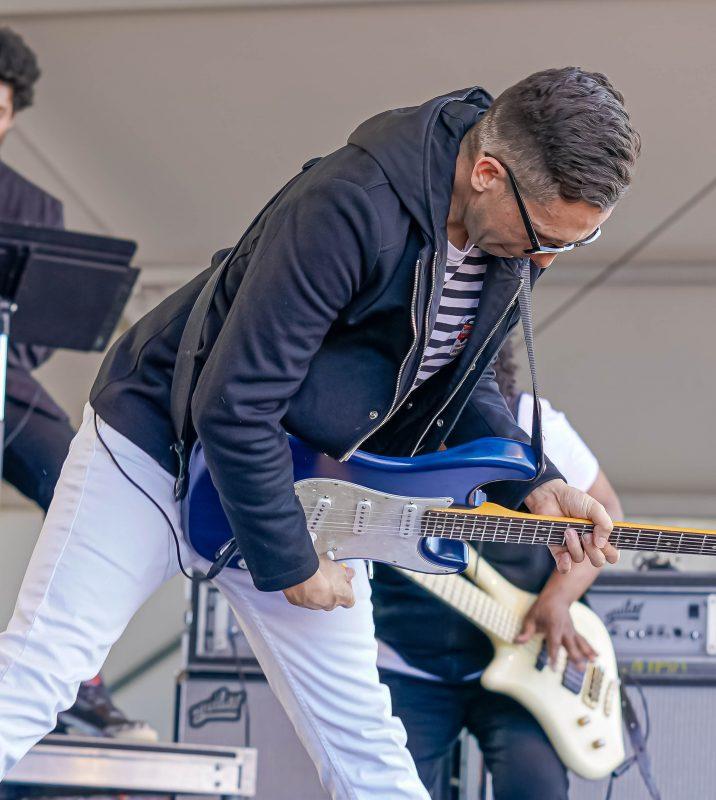 Cory Wong at the 2021 Newport Jazz Festival
