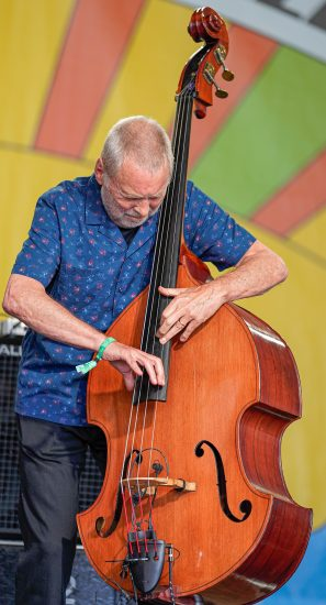 Dave Holland at the 2021 Newport Jazz Festival