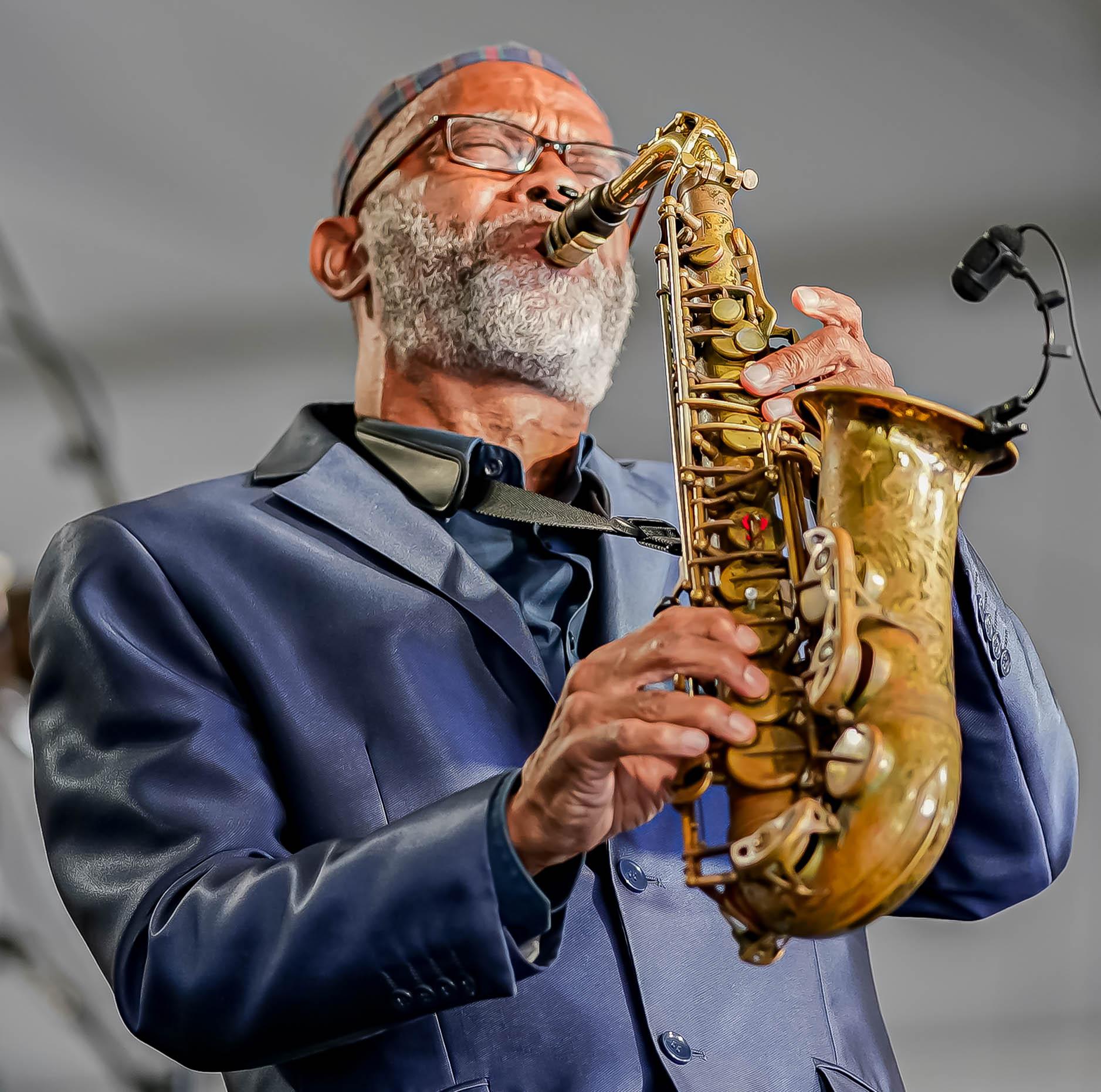 Kenny Garrett at the 2021 Newport Jazz Festival