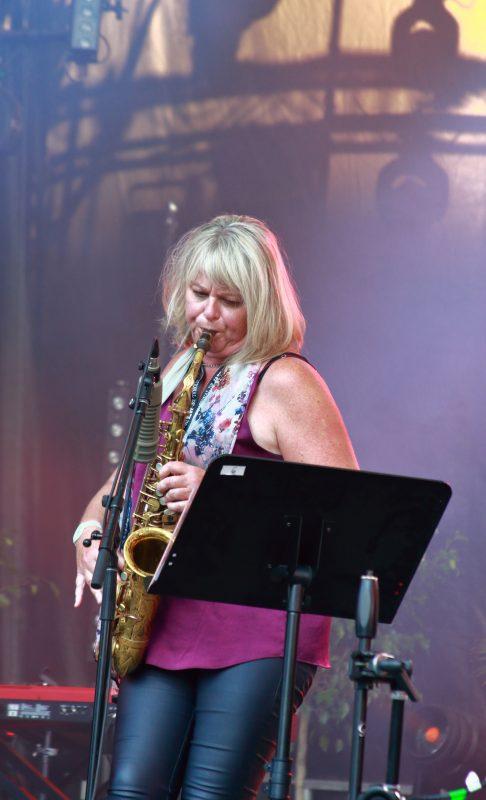 Christine Jensen at the 2021 Montreal Jazz Festival
