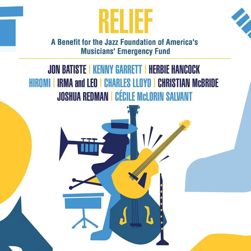Cover of Jazz Foundation of America benefit album Relief