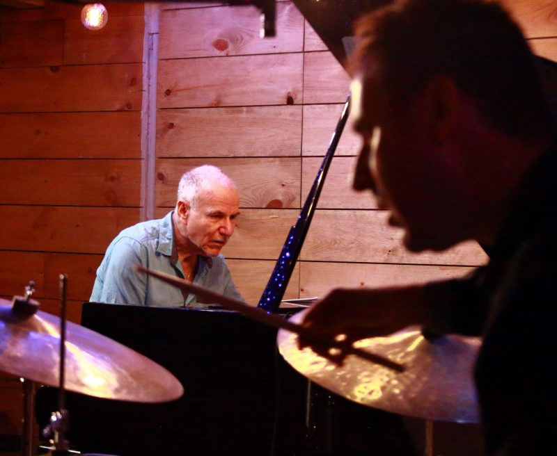 Marc Copland and Jim Doxas at the 2021 Montreal Jazz Festival