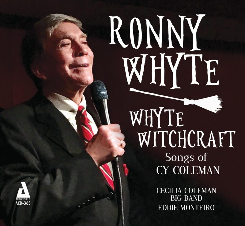 Cover of Ronny Whyte album Whyte Witchcraft: Songs of Cy Coleman