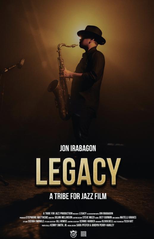 Poster for the film Jon Irabagon: Legacy